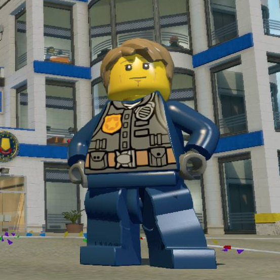 lego city opening screen