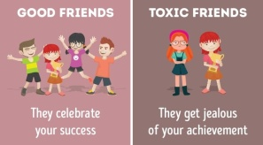 toxic friends get jealous